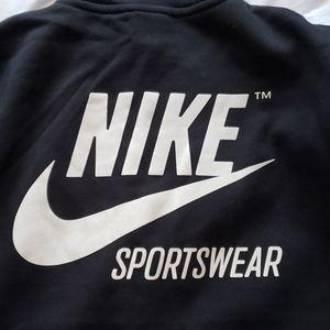 Nike Shirts - Nike Sportswear Full Zip Black Hoodie
